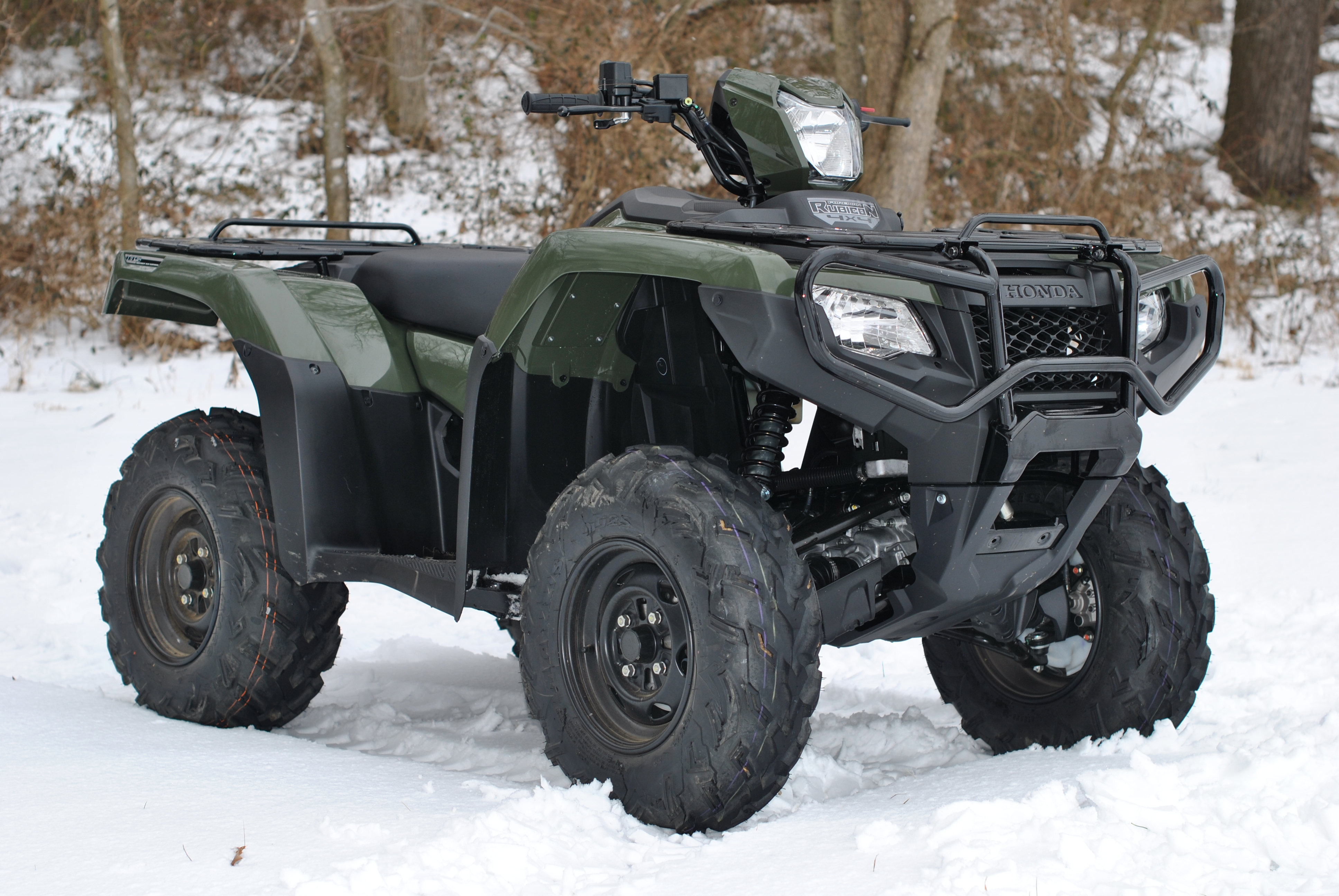 2015 Honda Foreman Rubicon 4×4 – Review | Down the Trail: ATV